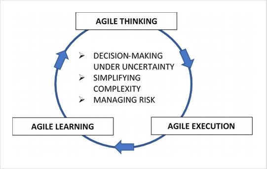 Agile diagram for the High Performance Under High Uncertainty