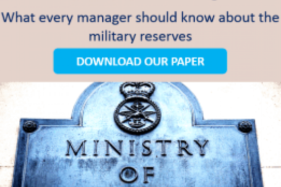 What you need to know about the Military Reserves