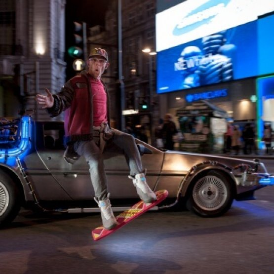 Hoverboarding: The future is now!